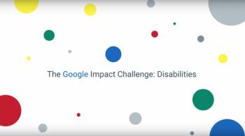 Заставка для - Гранты Google для поиска решений, улучшающих жизнь людей с ограниченными возможностями