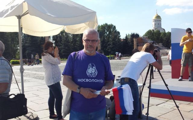 Заставка для - Серебряный волонтер Николай Смирнов