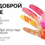 Заставка для - Ярмарка волонтерских вакансий «По доброй воле»