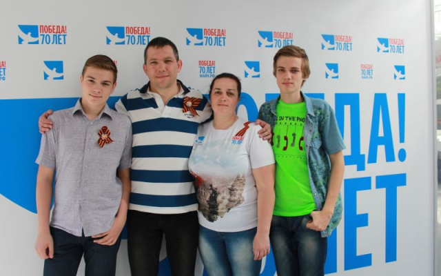 Заставка для - Семья Васильевых, Мосволонтер