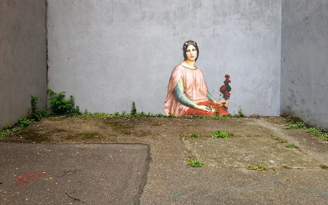Заставка для - Уличное искусство против неравенства и несправедливости