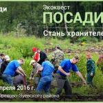 Заставка для - Экоквест «Посади лес»
