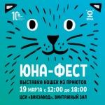 Заставка для - Юна-Фест. Выставка кошек из приютов