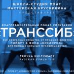 Заставка для - Благотворительный показ спектакля Мастерской Брусникина «ТРАНССИБ»
