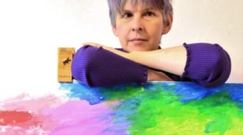 Заставка для - Фиолетовая Фея Феникс