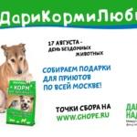 Заставка для - 17 августа — Всероссийская акция #ДариКормиЛюби!