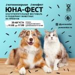 Заставка для - Фестиваль-пристройство бездомных животных «Юна-фест»